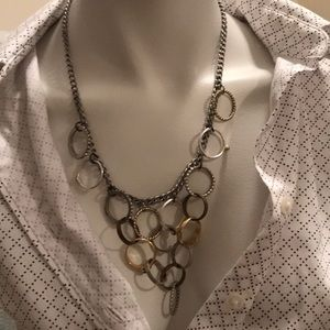 Jewelmint necklace made of rings